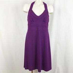 Banana Republic empire halter dress 10